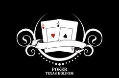 Club del póker Foto de archivo libre de regalías