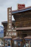 Club del pasatiempo en Leadville, Colorado fotografía de archivo libre de regalías