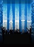 Club della discoteca Immagini Stock Libere da Diritti