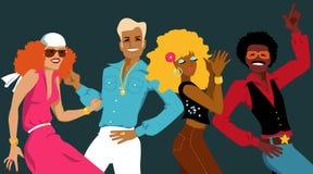 Club della discoteca illustrazione vettoriale