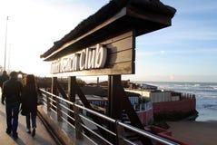 Club della spiaggia della Tahiti Fotografia Stock