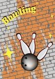 Club di bowling Fotografia Stock Libera da Diritti