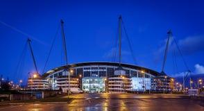 Club di calcio di Manchester City Fotografie Stock Libere da Diritti