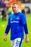 Club di calcio di Everton e di Wayne Rooney Fotografia Stock