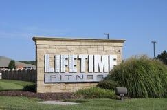 Club di forma fisica e di salute di tempo di vita Immagine Stock