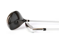Club di golf, driver (un legno) e cuneo di lancio Immagini Stock
