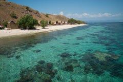 Club di immersione subacquea sull'isola di Sebayur, Indonesia Fotografia Stock