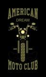 Club di moto di logo Fotografia Stock