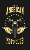 Club di moto di logo Immagine Stock Libera da Diritti