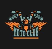 Club di moto di logo Fotografia Stock Libera da Diritti