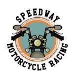 Club di moto di logo Immagini Stock Libere da Diritti