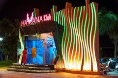Club di Nigth in Nha Trang, Vietnam Fotografia Stock Libera da Diritti