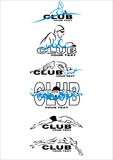 Club di nuotata Fotografia Stock Libera da Diritti