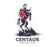 Club di pugilato e di combattimento del centauro Fotografie Stock