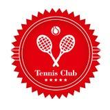 Club di tennis Fotografie Stock Libere da Diritti