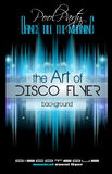 Club Disco Flyer Set with Music Elements and space for text Royalty Free Stock Images