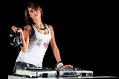 Club DJ Photographie stock libre de droits