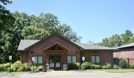 Club en el parque directivo de la máquina segador internacional, Lakeland, TN imagen de archivo