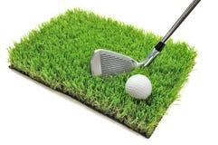 Club et bille de golf image stock