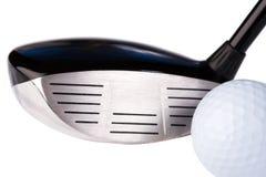 Club et bille de golf photos libres de droits