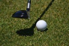 Club and Golf Ball Stock Photos