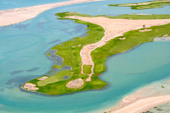 The Club Golf Course. Laguna del Mar Puerto Penasco, Sonora, mexico Royalty Free Stock Photography