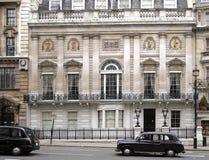 Club histórico de Londres Imagen de archivo libre de regalías