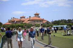 Club house at The Players Championship 2012 Royalty Free Stock Photography