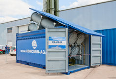 Club-K container missile system Royalty Free Stock Photography