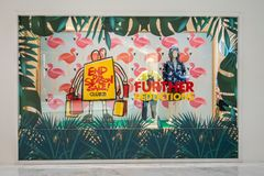 Club 21 Kids shop at Emquatier, Bangkok, Thailand, Jun 29, 2018 royalty free stock photos