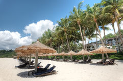 Club Med, Bintan, Indonésia Fotografia de Stock Royalty Free