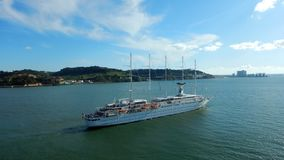 Club Med 2 cruise ship royalty free stock image