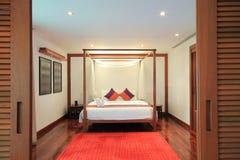 Club Med Phuket. Bed Room royalty free stock photo