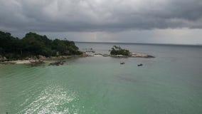 Club Med resort Bintan stock footage