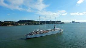 Club Med 2 statek wycieczkowy obraz royalty free