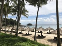 Club Med Ucieka się Bintan obrazy royalty free