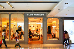 Club Monaco Shop Stock Photography