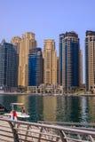 Club náutico de la torre del lago, Dubai Foto de archivo