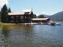 Club náutico magnífico del lago Imagen de archivo libre de regalías