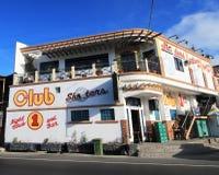 Club 1 Nachtclub en Bar in Filippijnen Royalty-vrije Stock Afbeeldingen