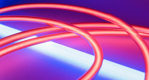Club neon lighting lights Royalty Free Stock Images