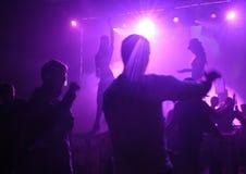 club nigt Στοκ φωτογραφίες με δικαίωμα ελεύθερης χρήσης