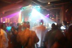Club nocturno Foto de archivo libre de regalías