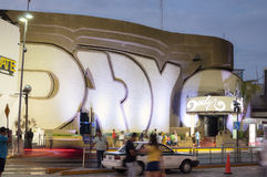 Club nocturno Cancun de Dady'O Imágenes de archivo libres de regalías