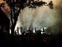 Club Orkestar de Shantel et de Bucovina d'Allemagne photographie stock libre de droits