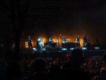 Club Orkestar di Bucovina & di Shantel fotografia stock