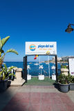 Club Playa del Sol Royalty Free Stock Images