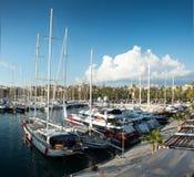 Club real Nautico en Palma fotografía de archivo libre de regalías