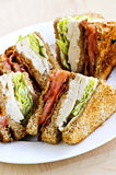 Club Sandwich Stockfoto