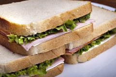 Club Sandwich stockbilder